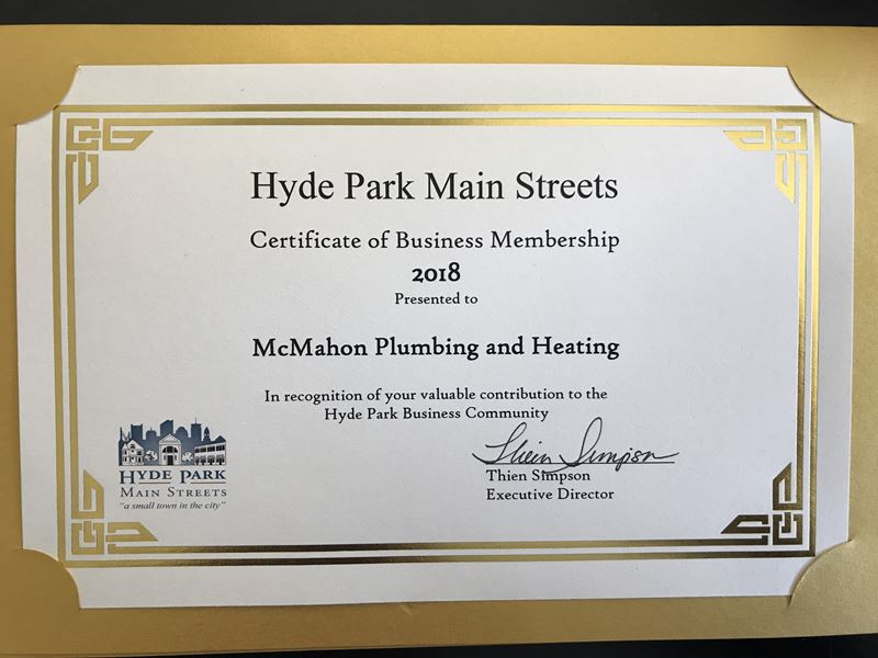 Mcmahon Helps Community Outreach Plumber Boston Ma