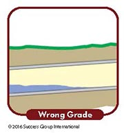 Main Drain Problem Signs: Wrong Grade