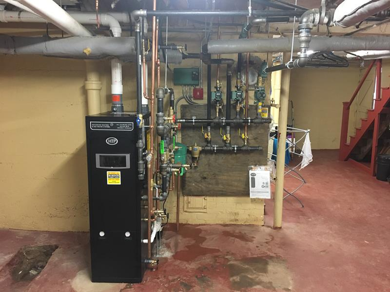 Latest Projects | A recent HTP Combi Boiler (Heat & Hot Water ...
