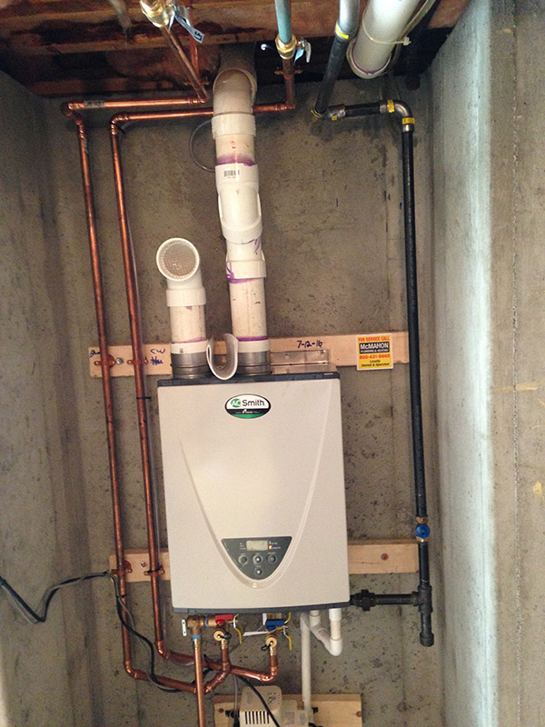 Latest Projects Tankless Water Heater Installation In